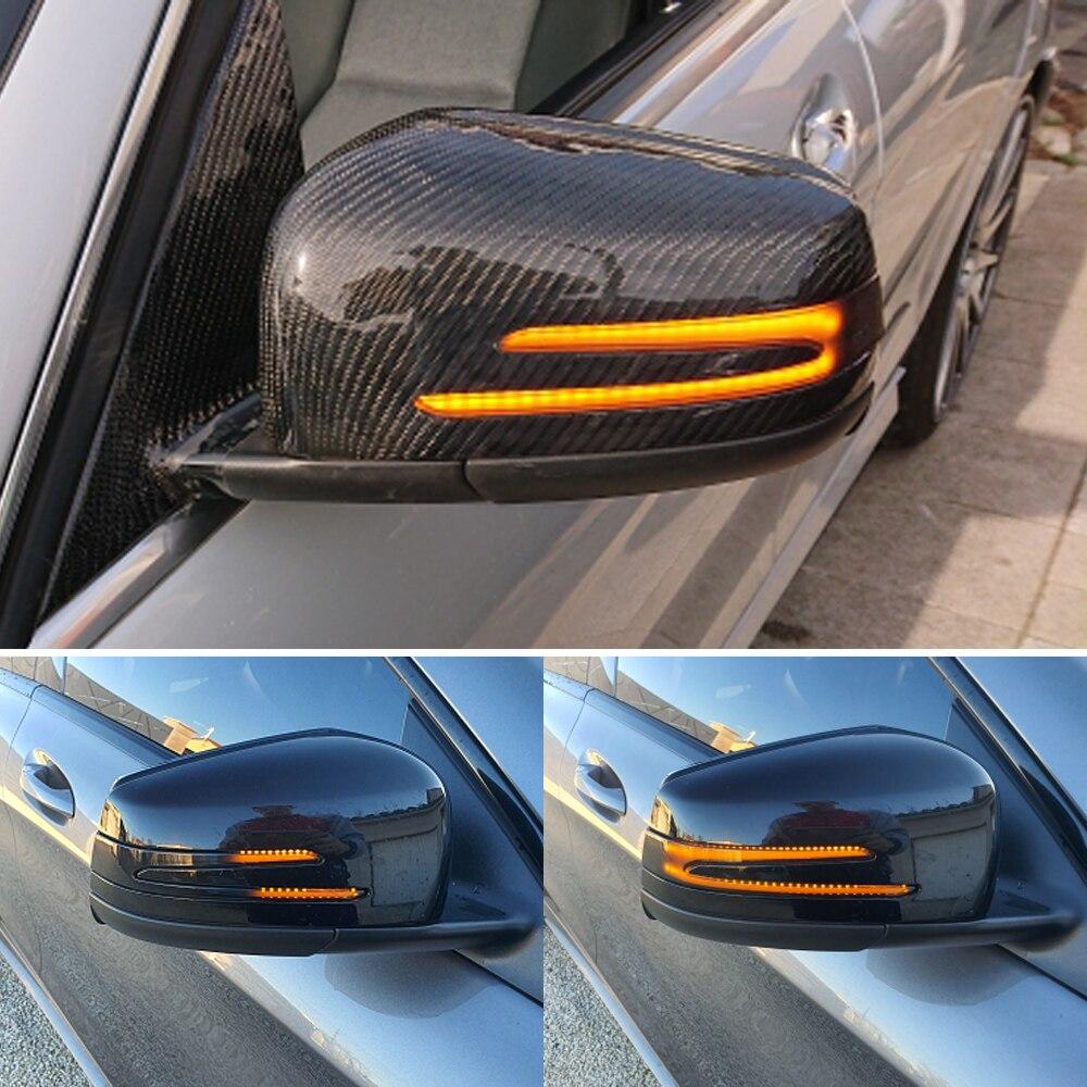 Dynamic Led Turn Signal Rearview Mirror Indicator Blinker Light For Mercedes Benz W204 W176 W212 CLA A B C E S GLA GLK CLS Class